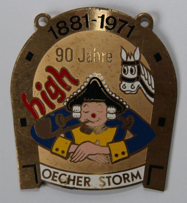 Orden 1971, K.K. Oecher Storm 1881