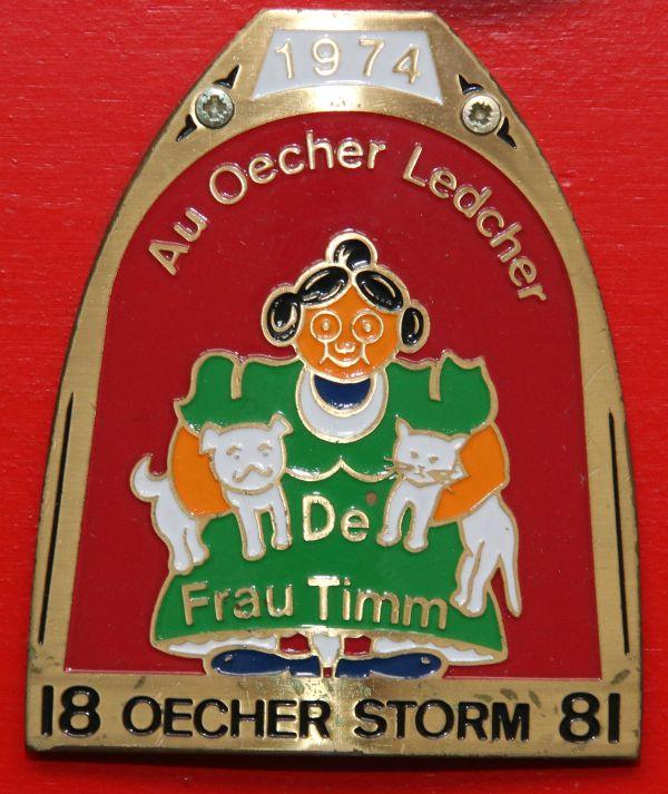 Orden 1974, K.K. Oecher Storm 1881