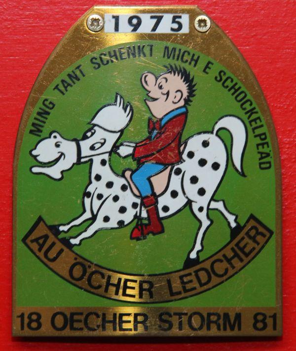 Orden 1975, K.K. Oecher Storm 1881