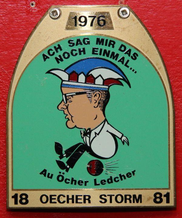 Orden 1976, K.K. Oecher Storm 1881