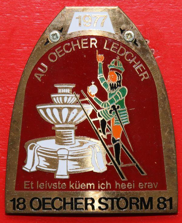 Orden 1977, K.K. Oecher Storm 1881