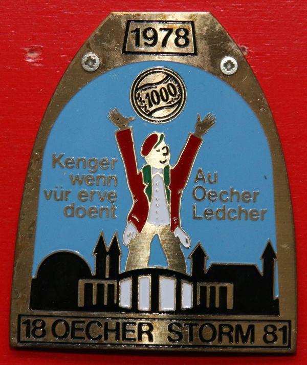 Orden 1978, K.K. Oecher Storm 1881
