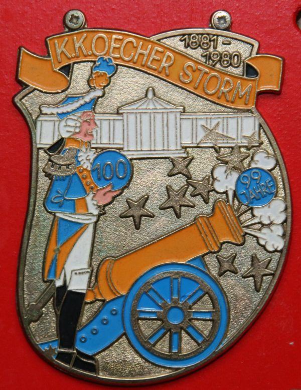 Orden 1980, K.K. Oecher Storm 1881