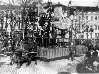 Rosenmontag 1908 320x240, K.K. Oecher Storm 1881