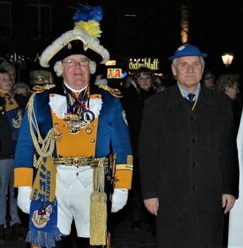 2008 Zapfenstreich Willi Leymann, K.K. Oecher Storm 1881